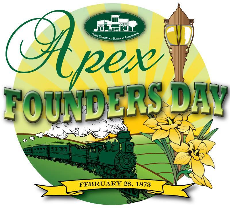 Apex founders day logo