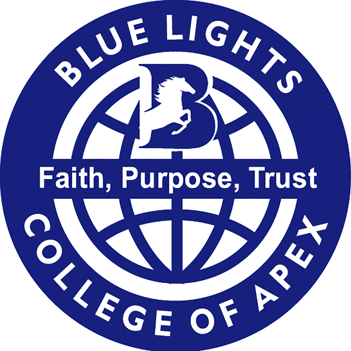 Blue Lights College        by Amy Iori