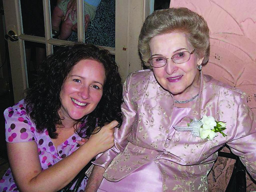 Kimberley and Grandmother